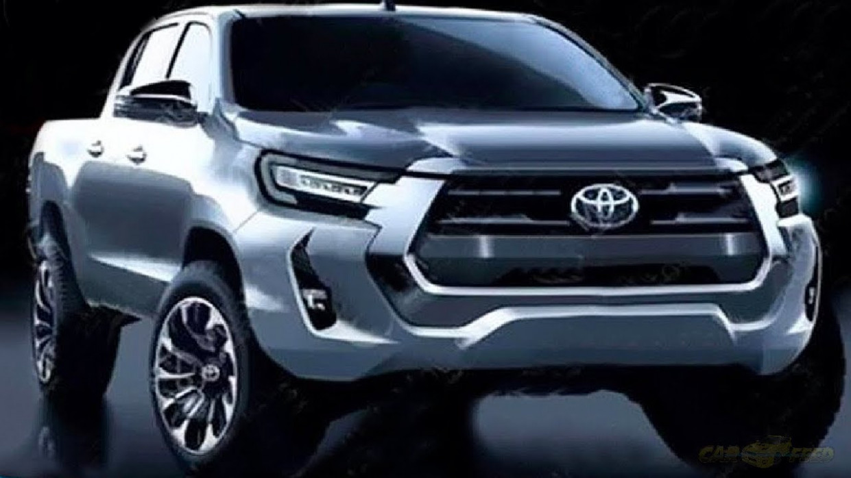 Speed Test 2022 Toyota Hilux Spy Shots