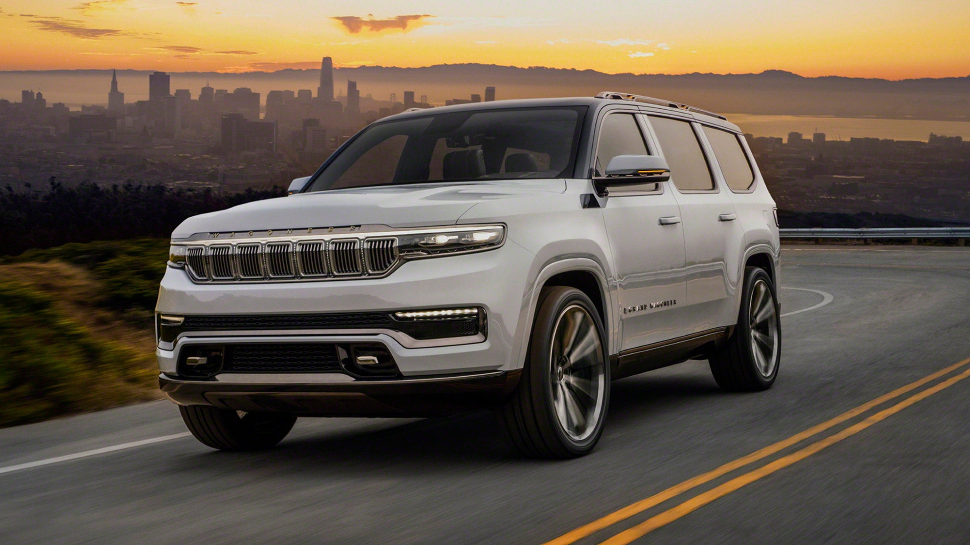 Exterior and Interior Jeep New Grand Cherokee 2022