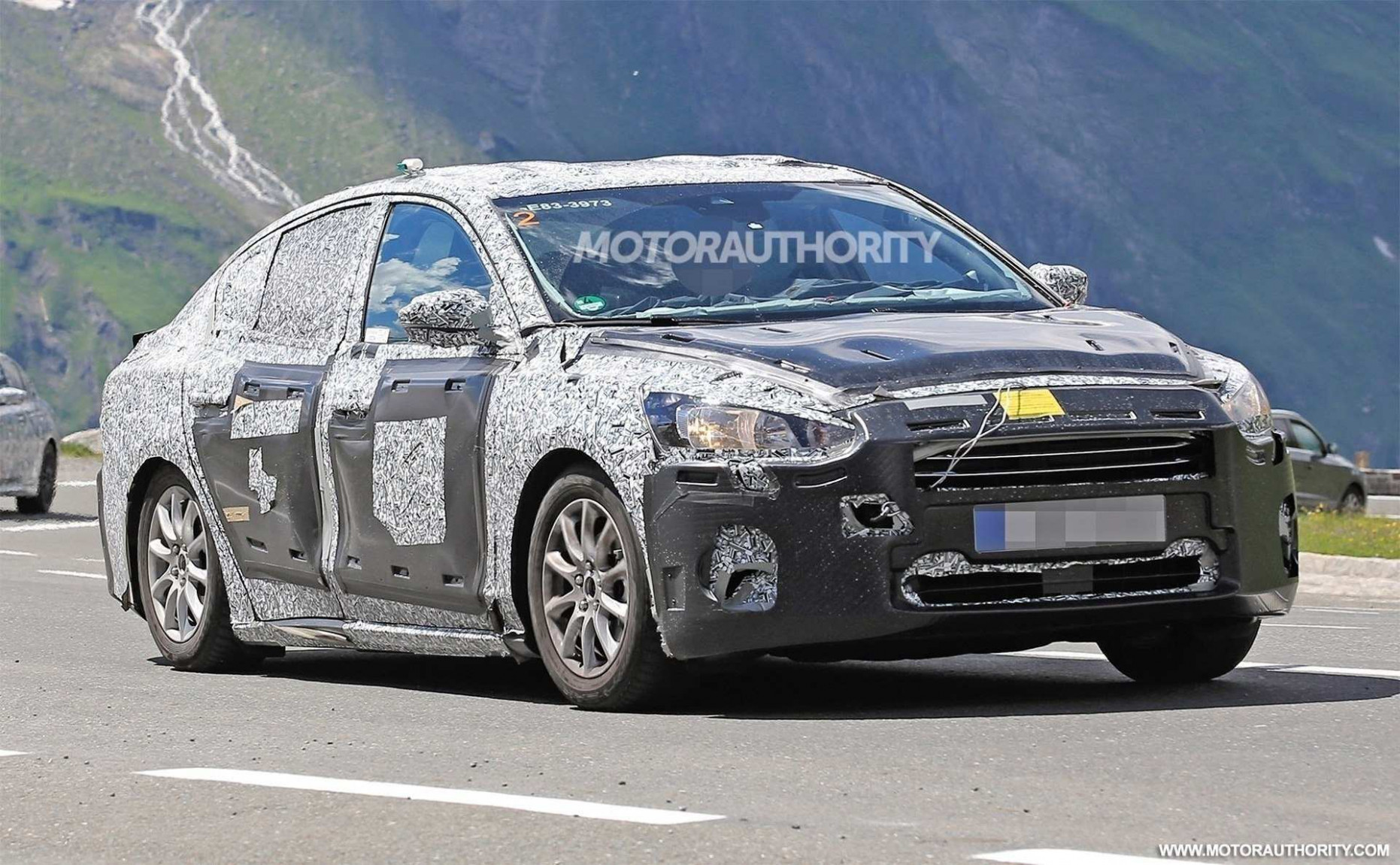 Research New Spy Shots Ford Fusion