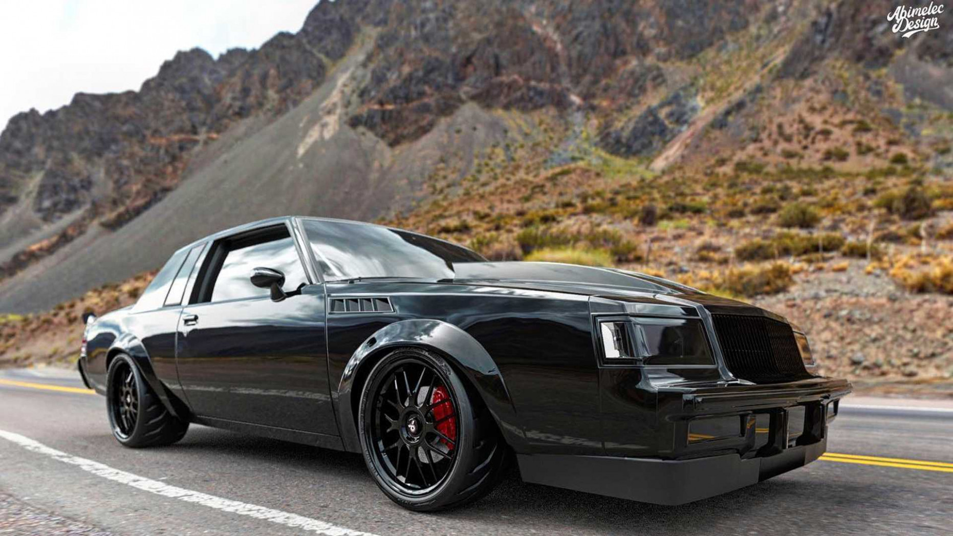 Redesign 2022 Buick Grand National Gnx