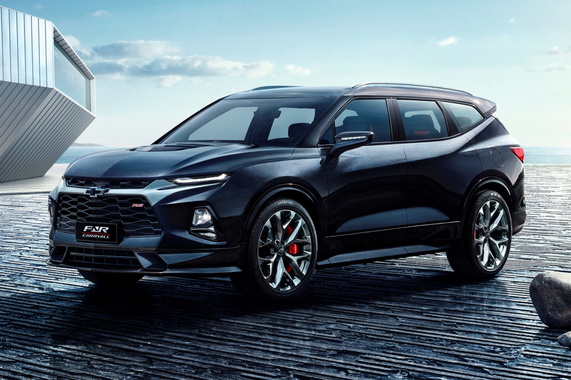 Performance and New Engine 2022 The Chevy Blazer