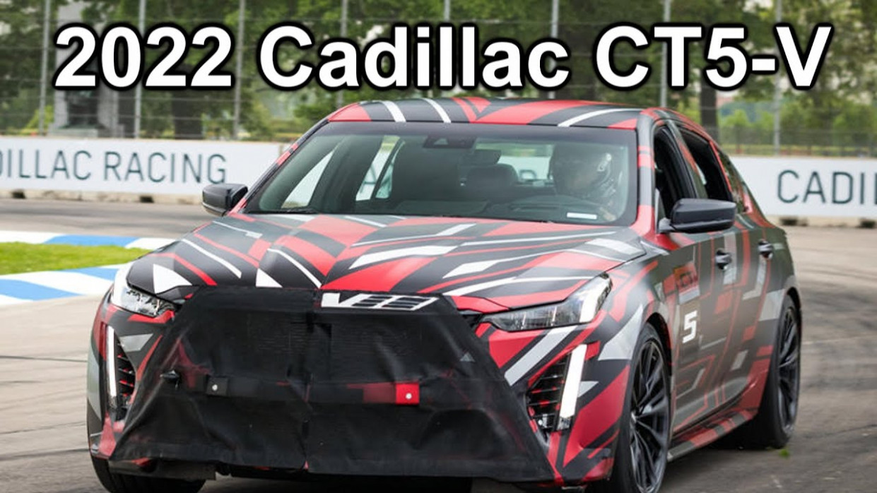 Review and Release date 2022 Cadillac Ct5 V