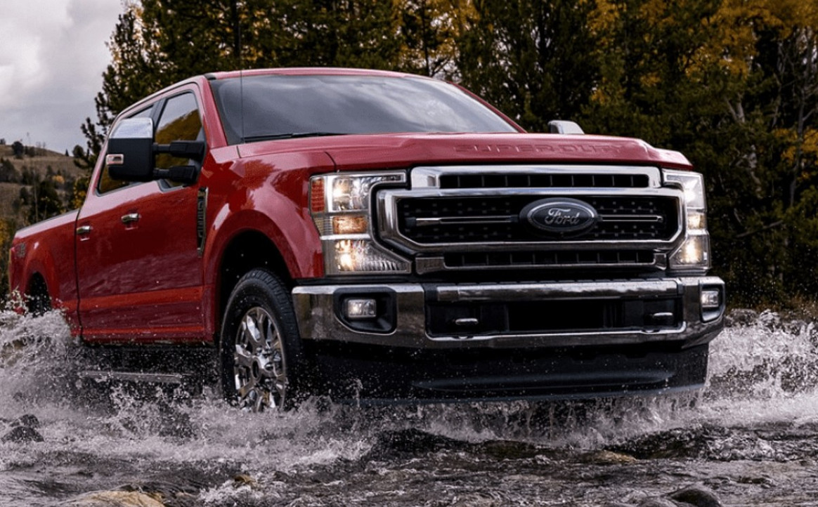 Performance and New Engine 2022 Spy Shots Ford F350 Diesel