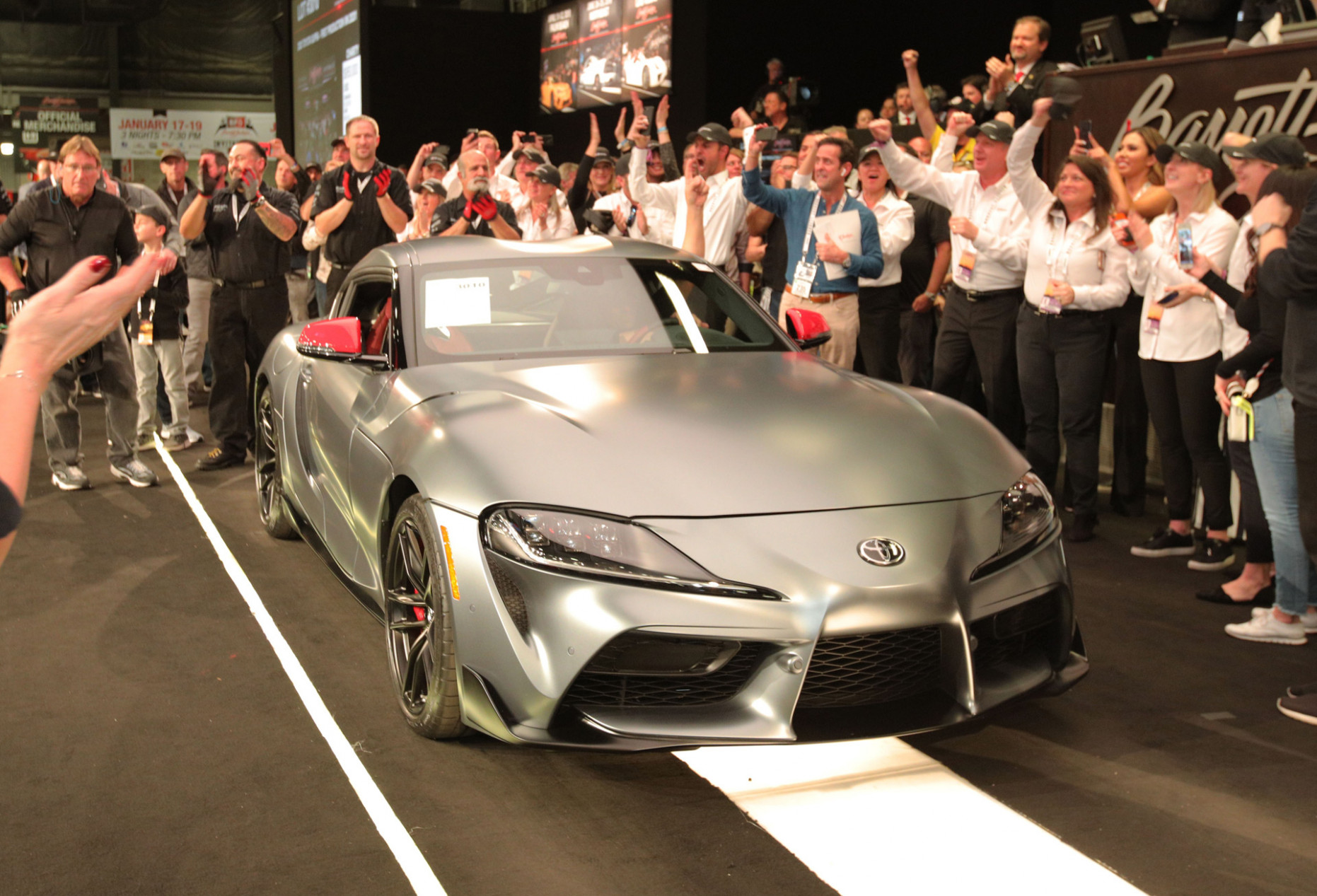 Specs and Review 2022 Toyota Supra Barrett Jackson
