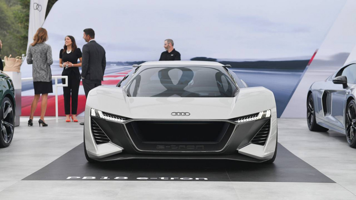 Redesign and Concept Audi R8 2022 Black