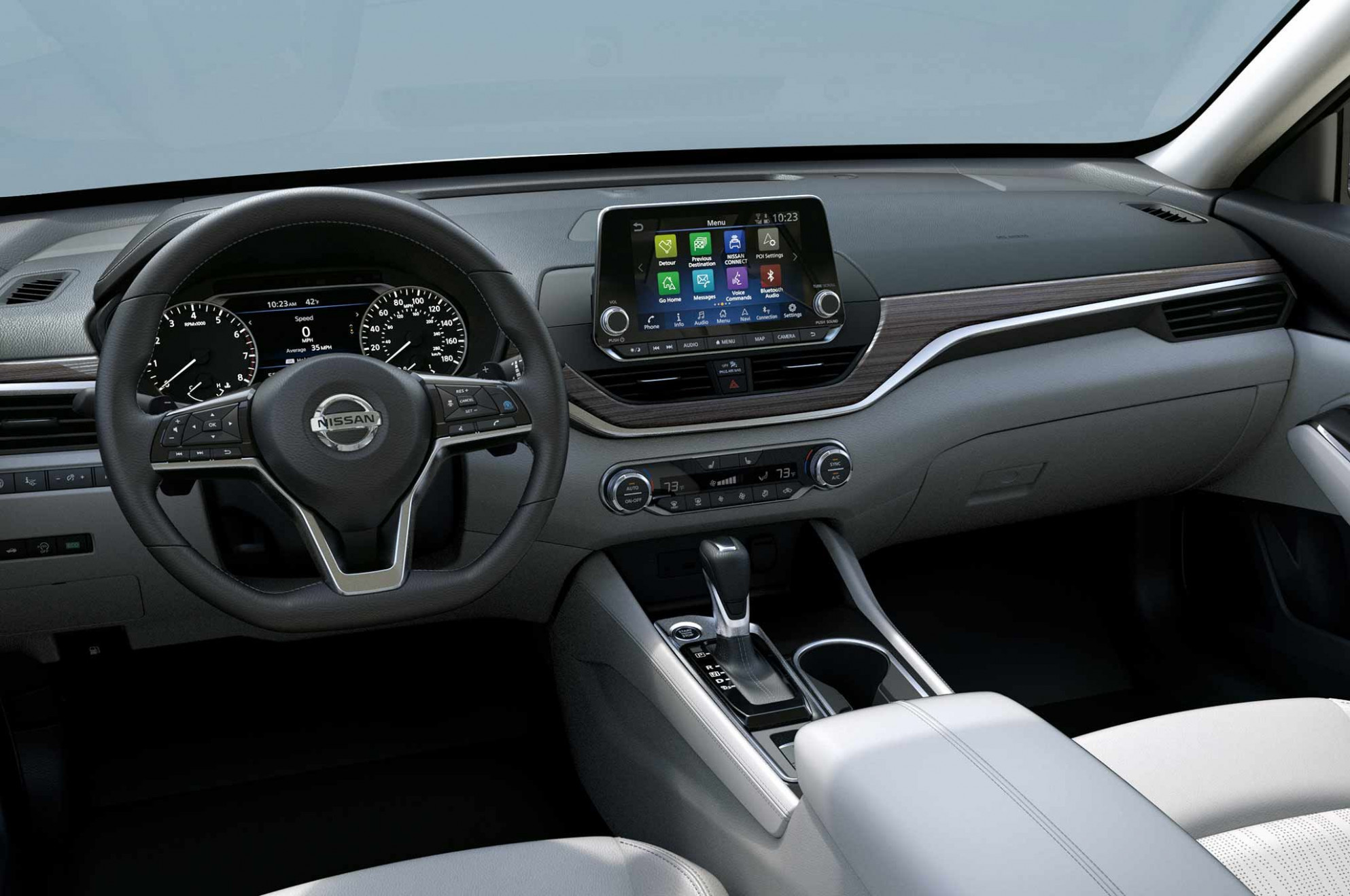 Wallpaper 2022 Nissan Altima Interior
