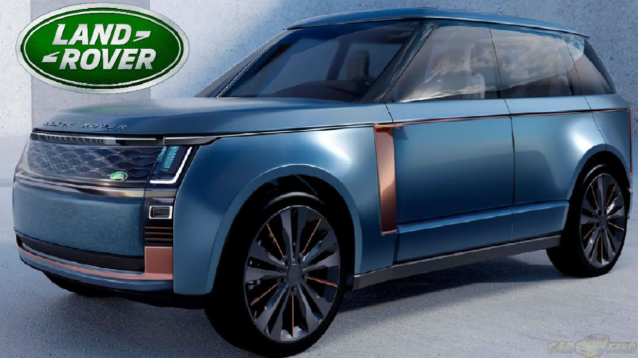 Exterior and Interior 2022 Range Rover Evoque