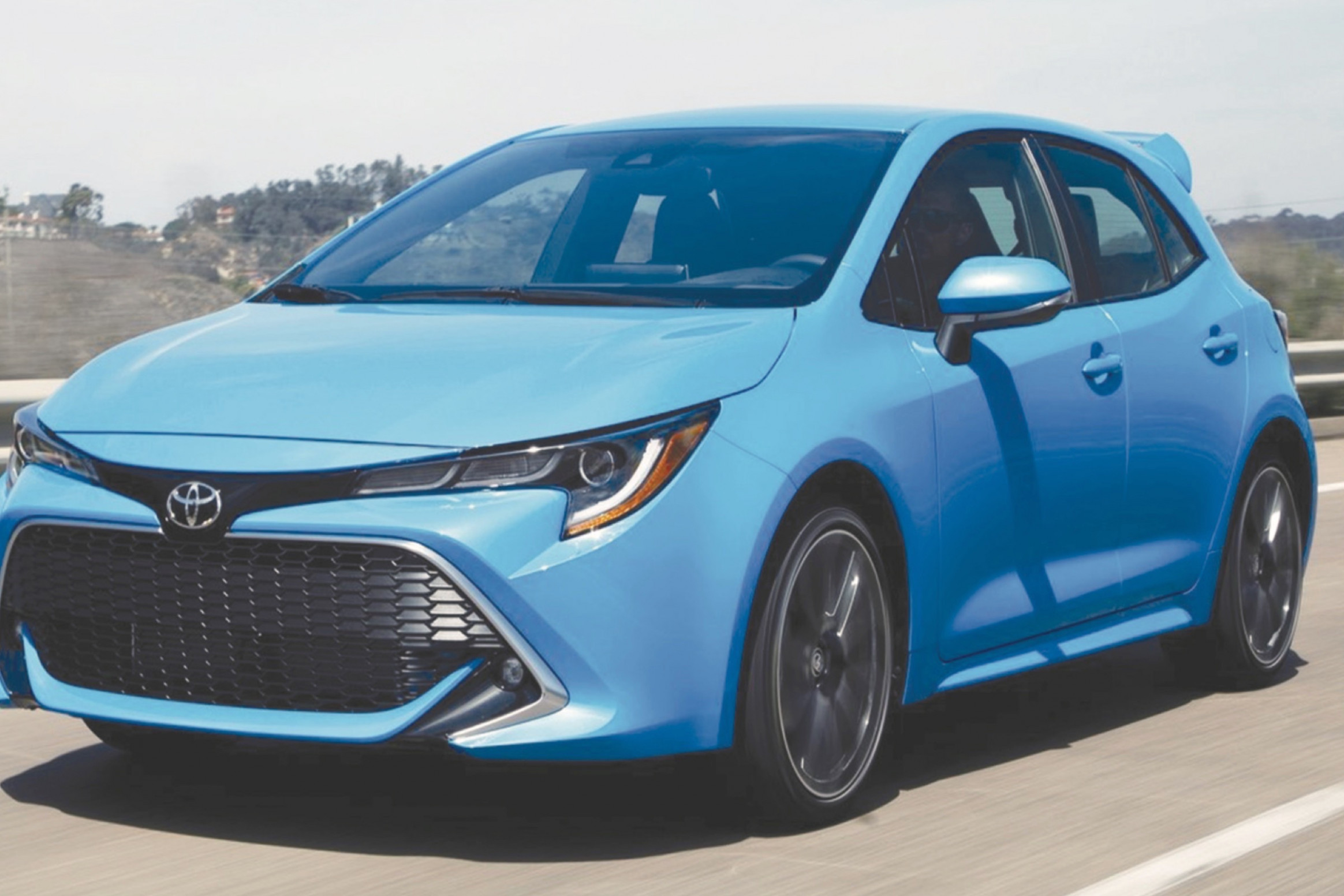 Engine 2022 Toyota Corolla Hatchback