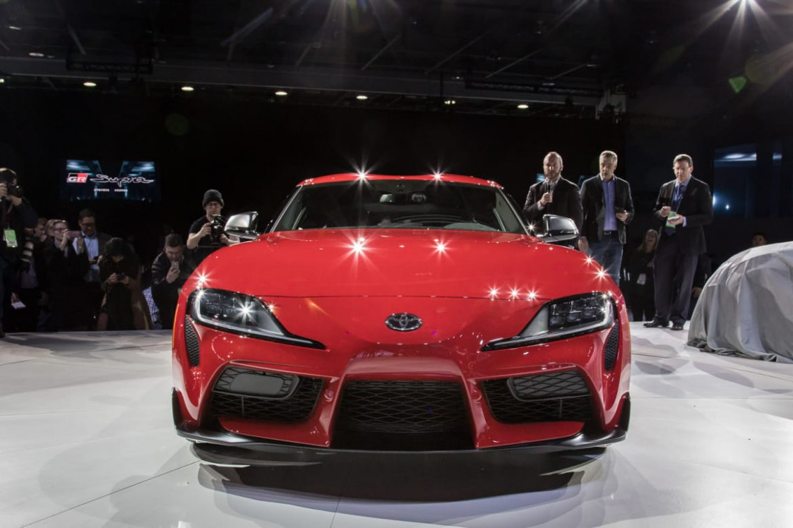 Ratings 2022 Toyota Supra Barrett Jackson