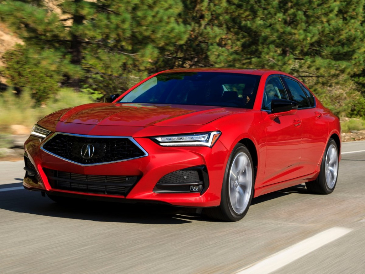 Wallpaper Acura Tlx Redesign 2022