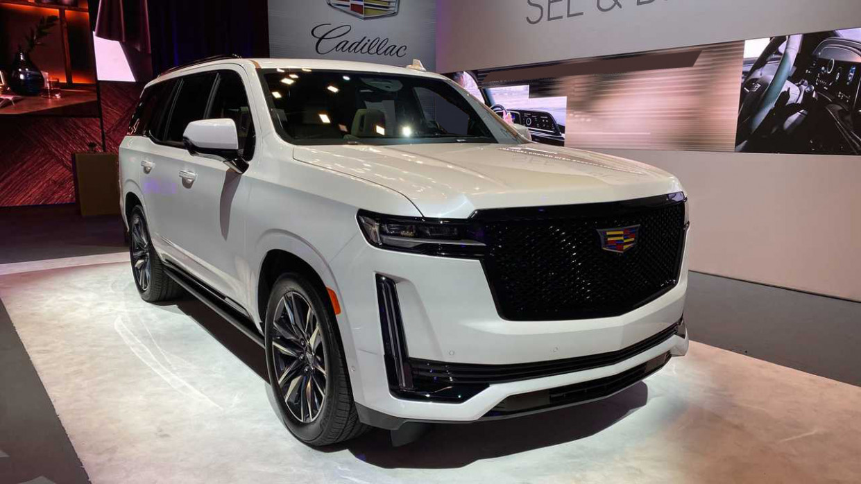 Overview Next Generation 2022 Cadillac Escalade