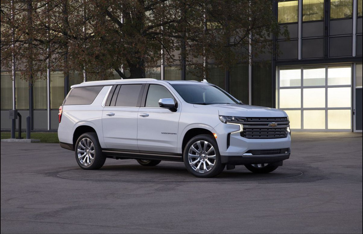Concept and Review 2022 Chevrolet Suburban Redesign