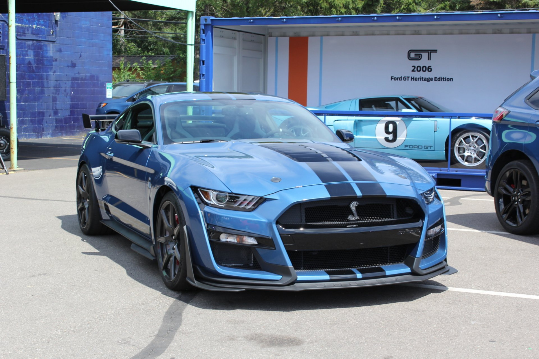 Speed Test 2022 Ford Mustang Shelby Gt500