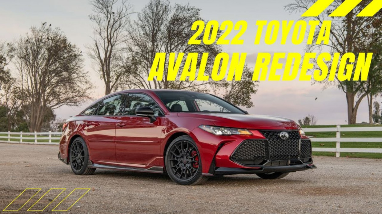 Specs and Review 2022 Toyota Avalon