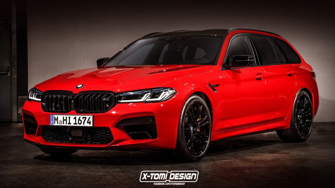 Pictures 2022 BMW M5