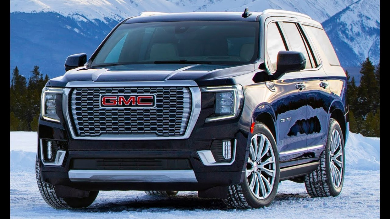 Spy Shoot Gmc Denali Suv 2022