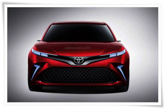 New Concept 2022 Toyota Camry