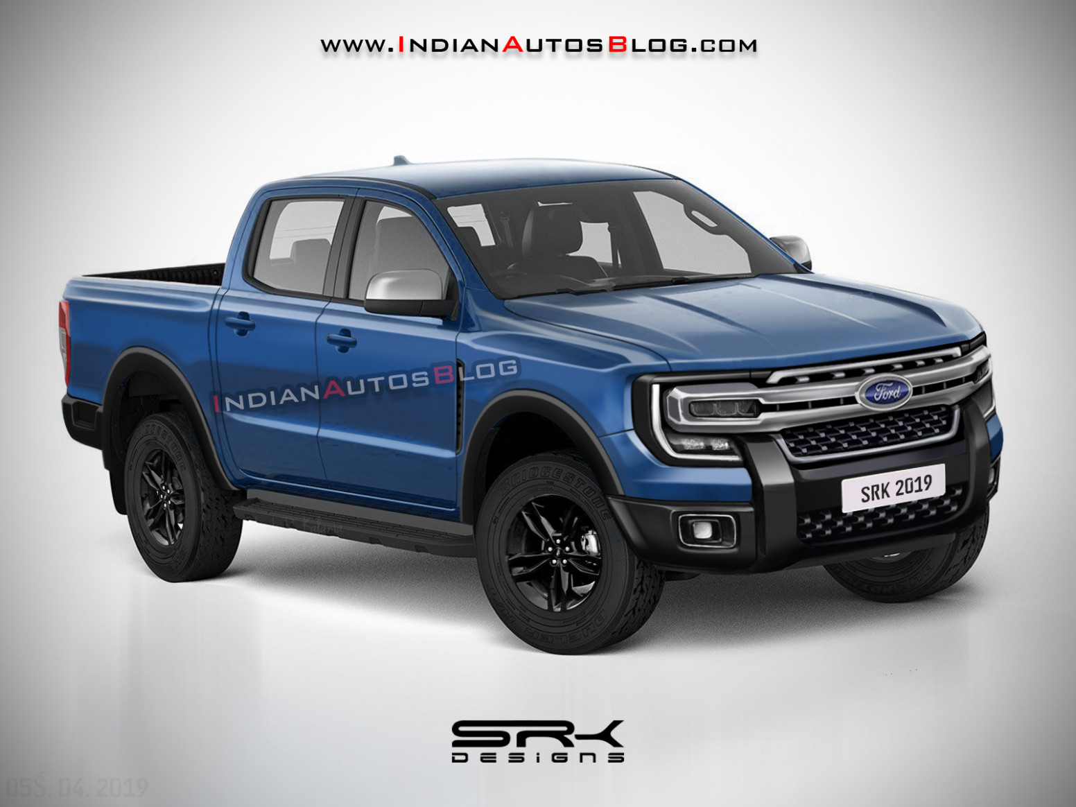 New Concept Ford Ranger 2022