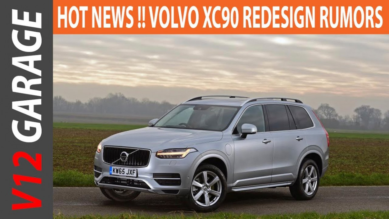 Exterior and Interior Volvo Model Year 2022