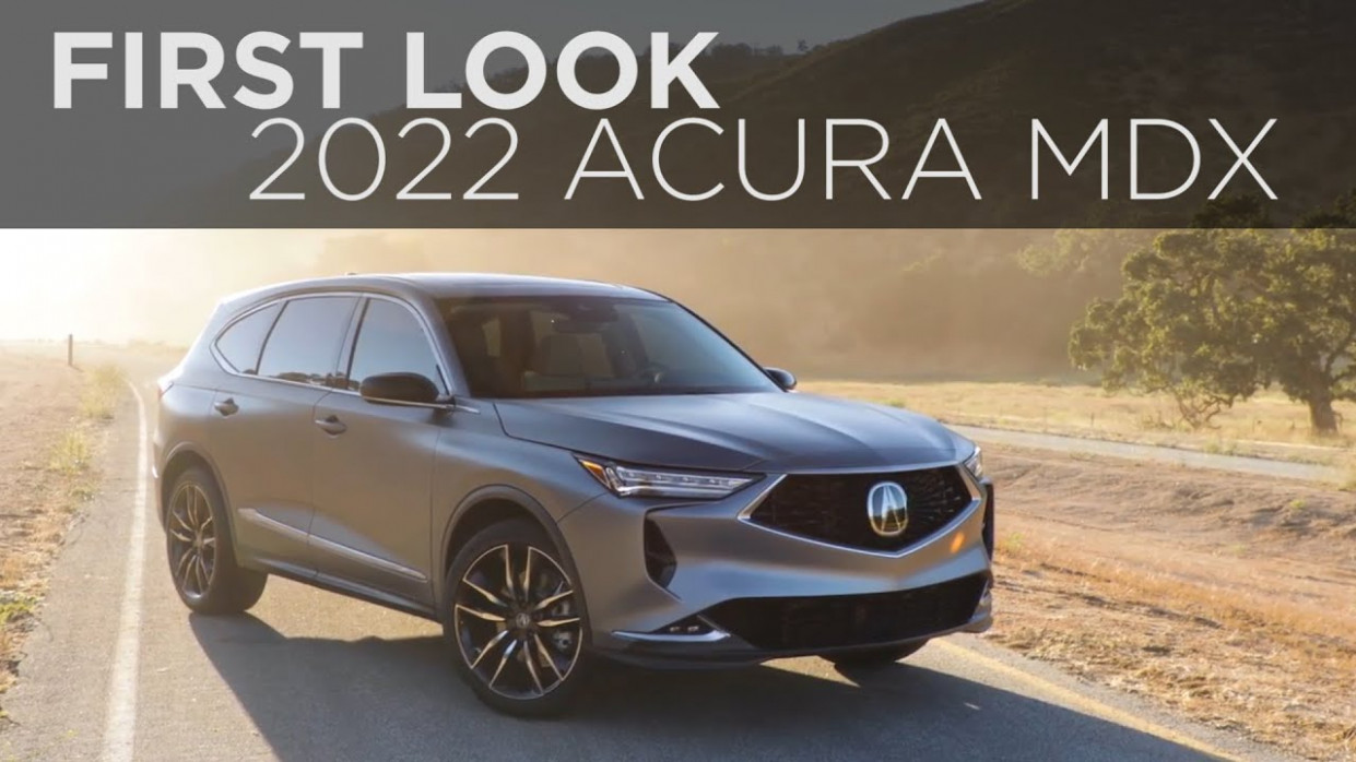 Exterior and Interior 2022 Acura Rdx V6 Turbo