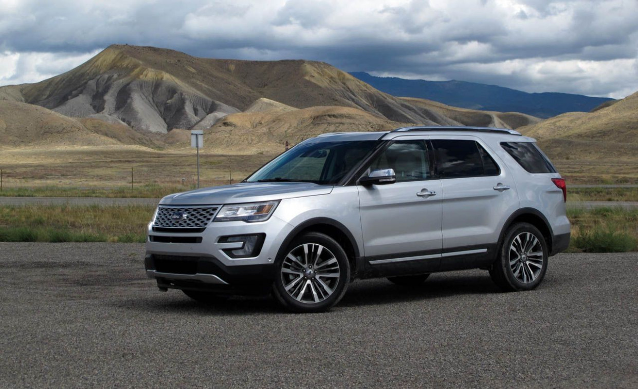 Exterior Ford Explorer 2022 Release Date