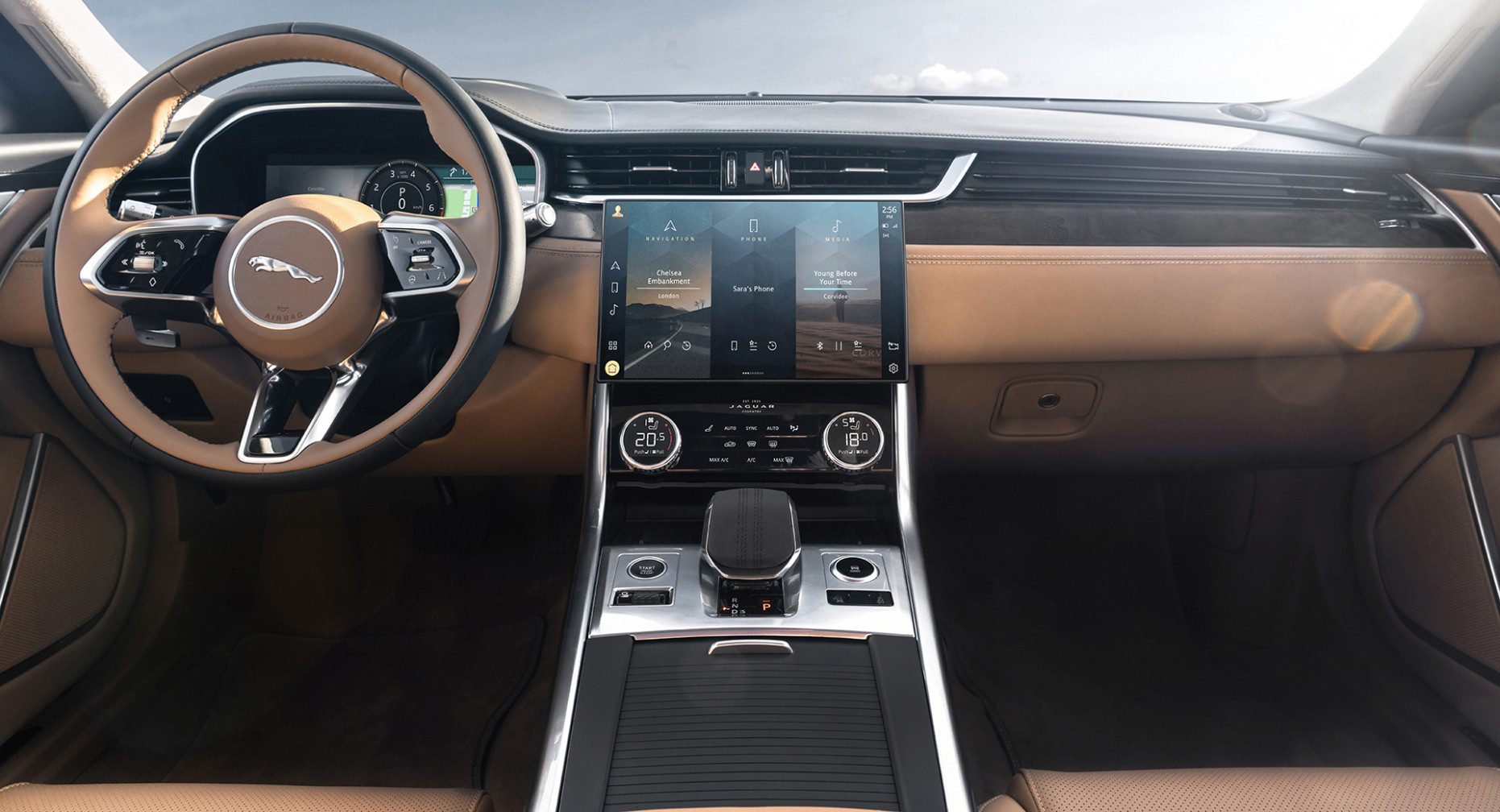 Redesign and Review New Jaguar Xe 2022 Interior