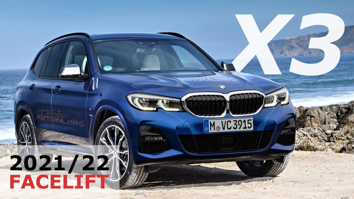 Exterior and Interior 2022 BMW X3 Release Date