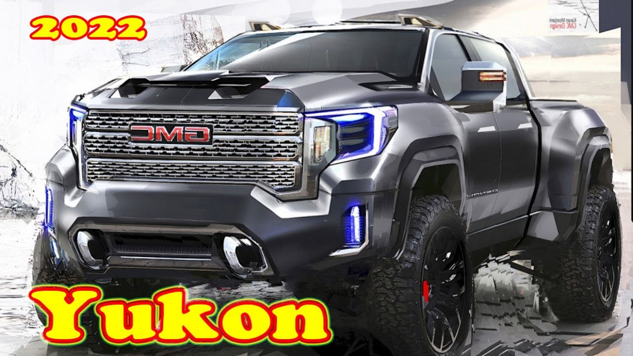Redesign and Concept 2022 GMC Sierra 1500