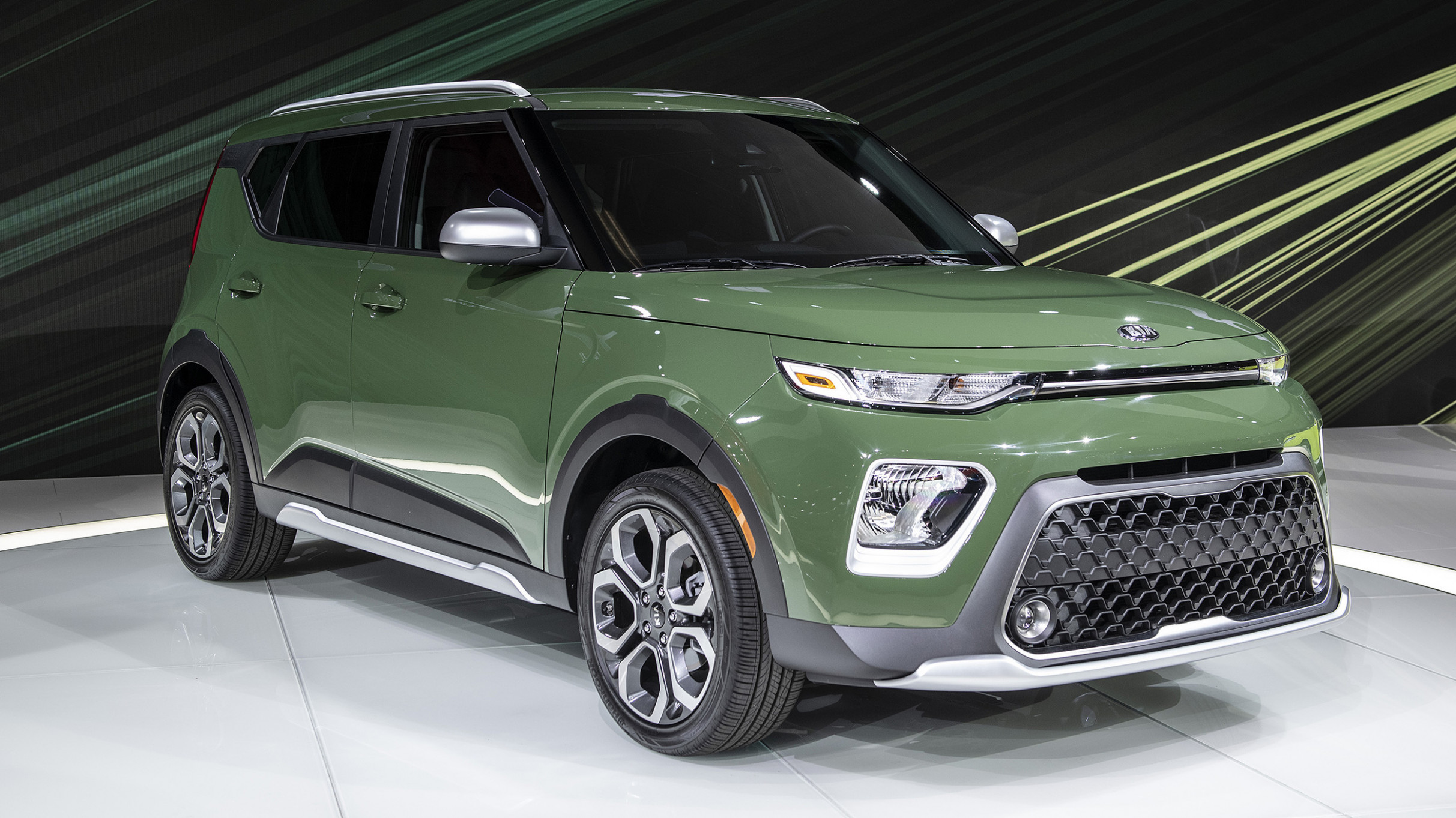 Overview 2022 Kia Soul Undercover Green