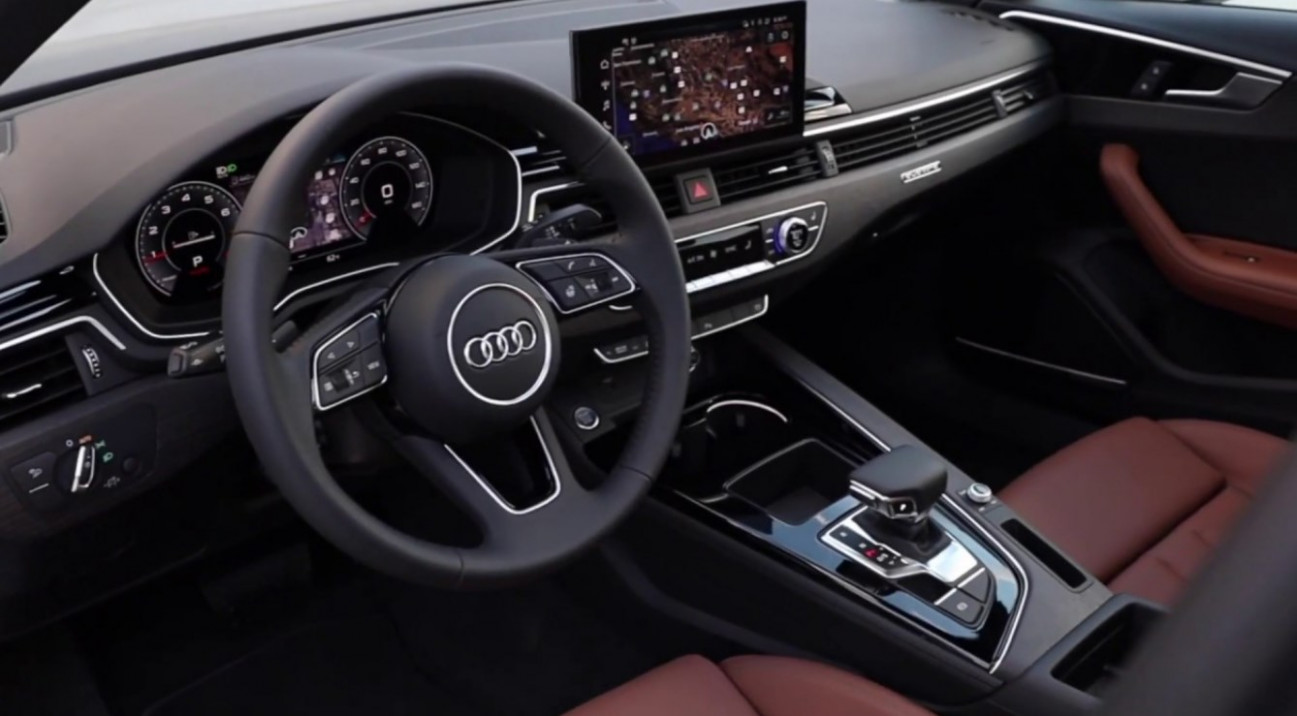 New Model and Performance Audi A4 2022 Interior