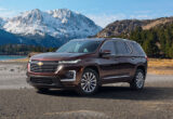 pictures chevrolet traverse 2022