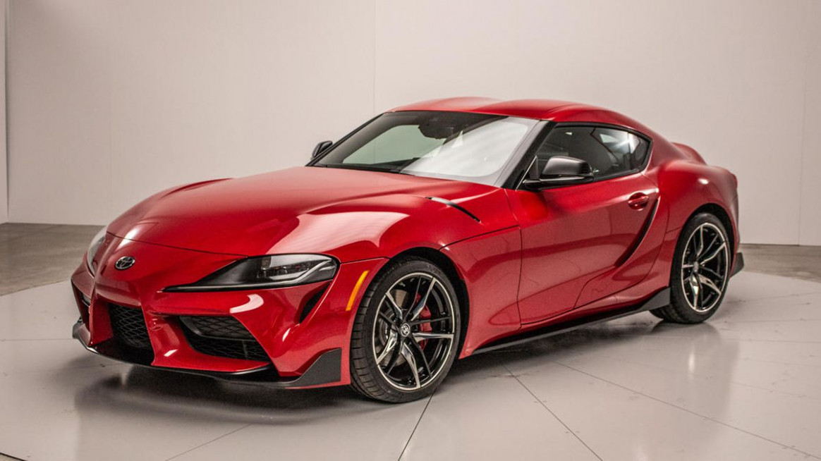 Redesign Pictures Of The 2022 Toyota Supra