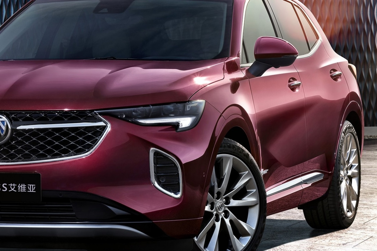 Pricing 2022 Buick Envision Colors