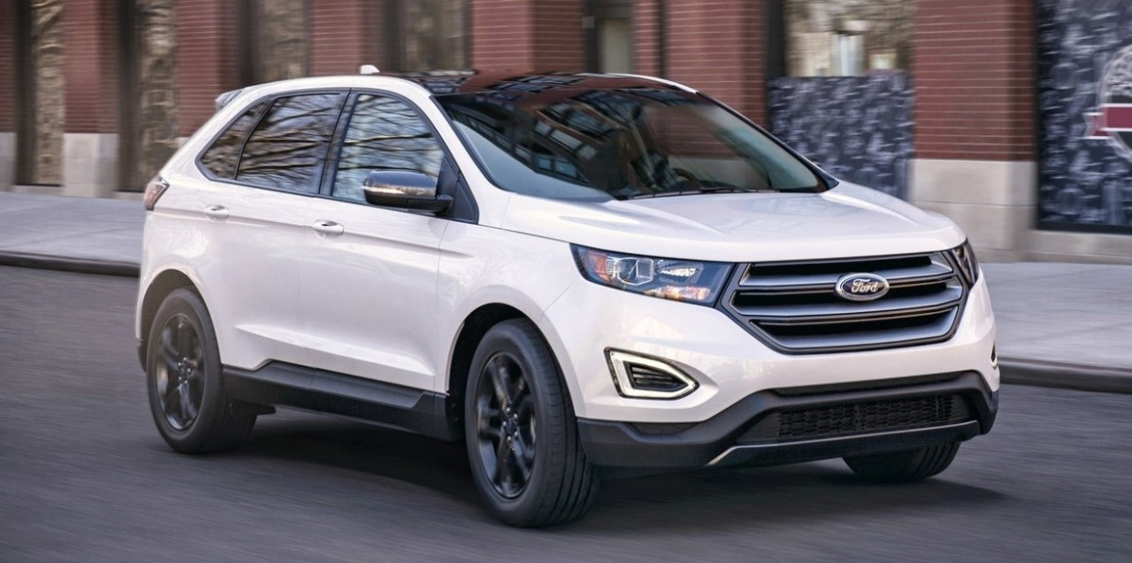 Performance and New Engine 2022 Ford Edge New Design