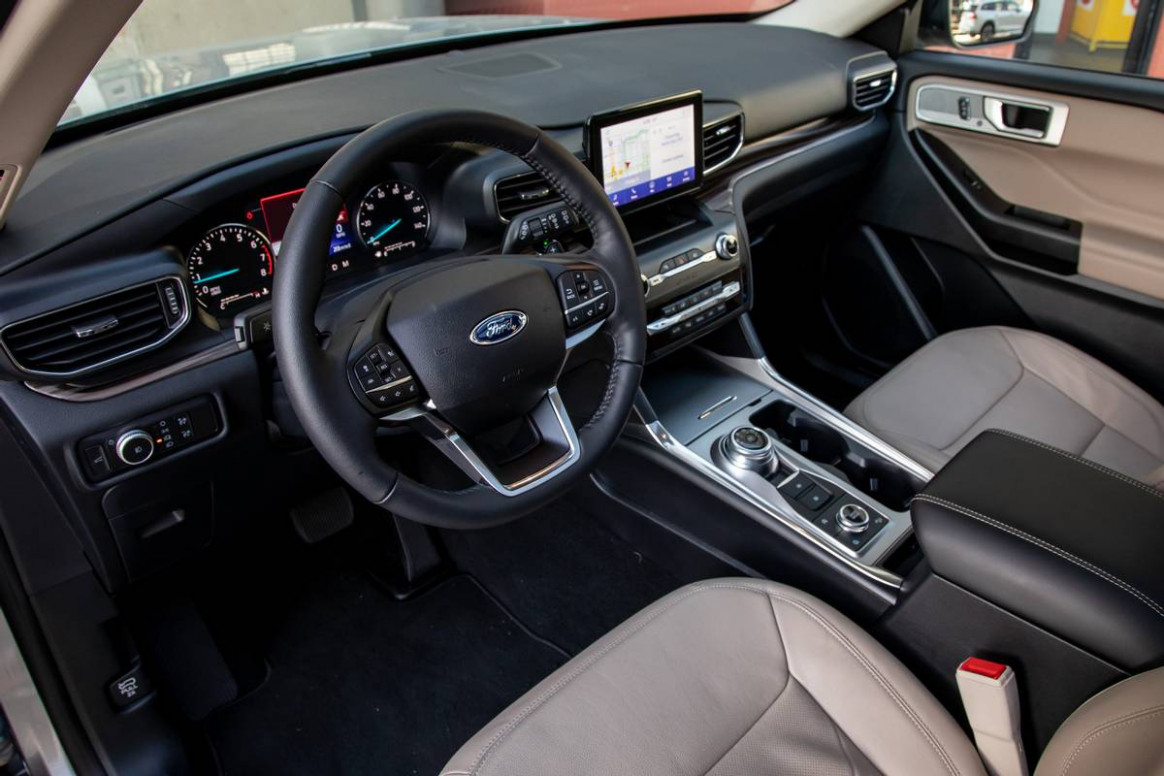 History 2022 Ford Explorer Interior