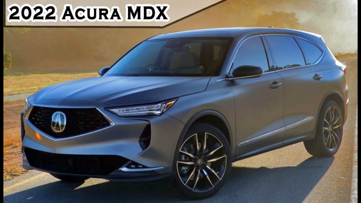 Redesign and Review 2022 Acura RDX