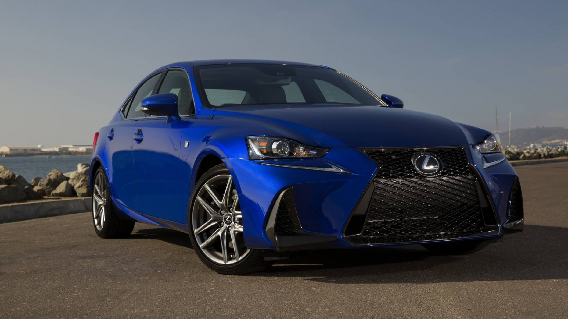 Exterior and Interior 2022 Lexus IS 250