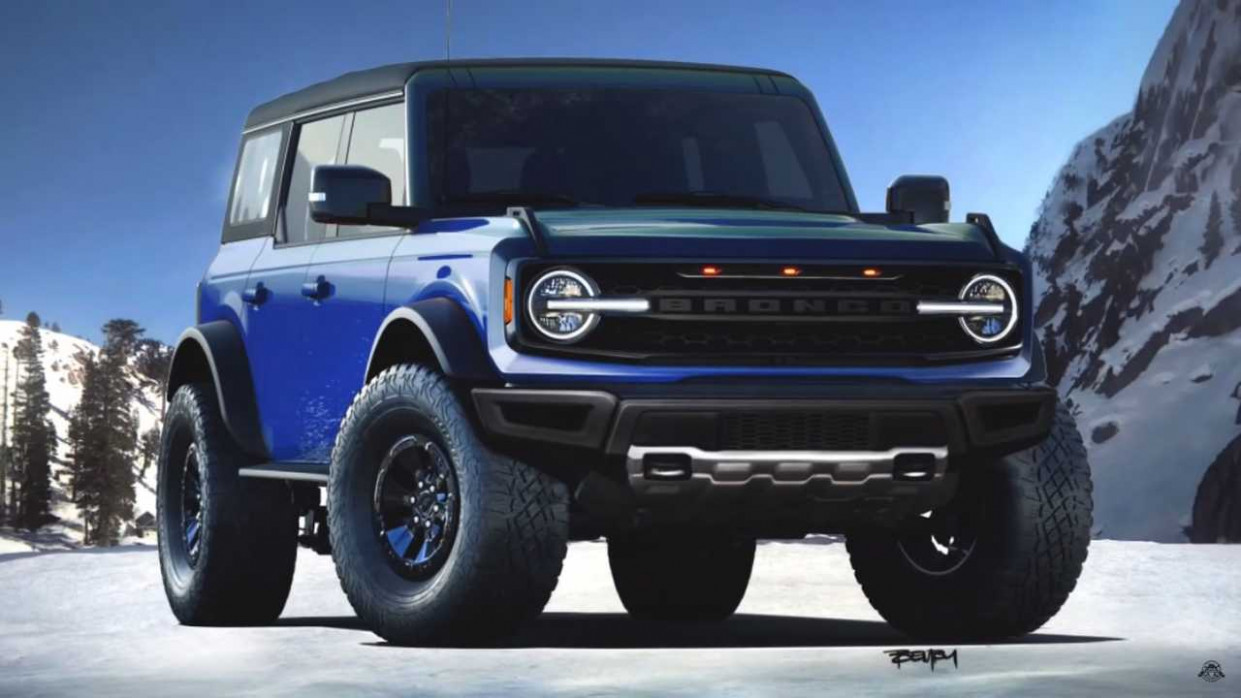 Review Ford Bronco 2022 Uk