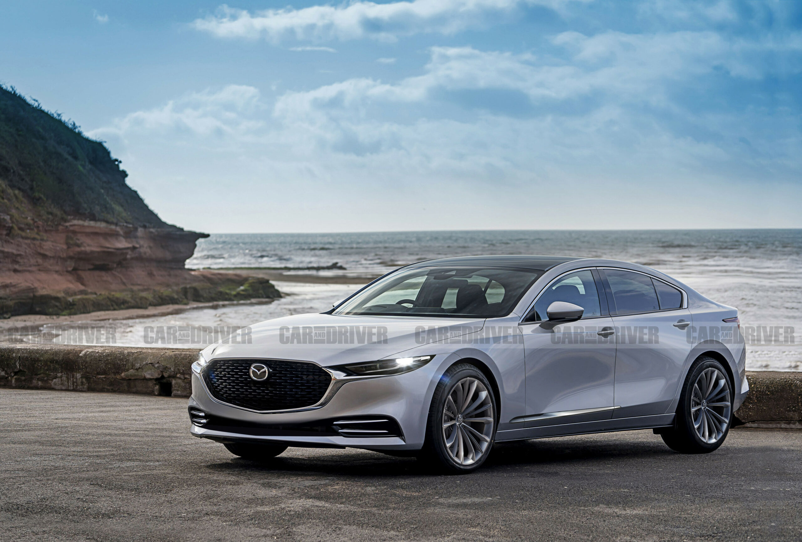 Performance and New Engine Mazda Vision Coupe 2022