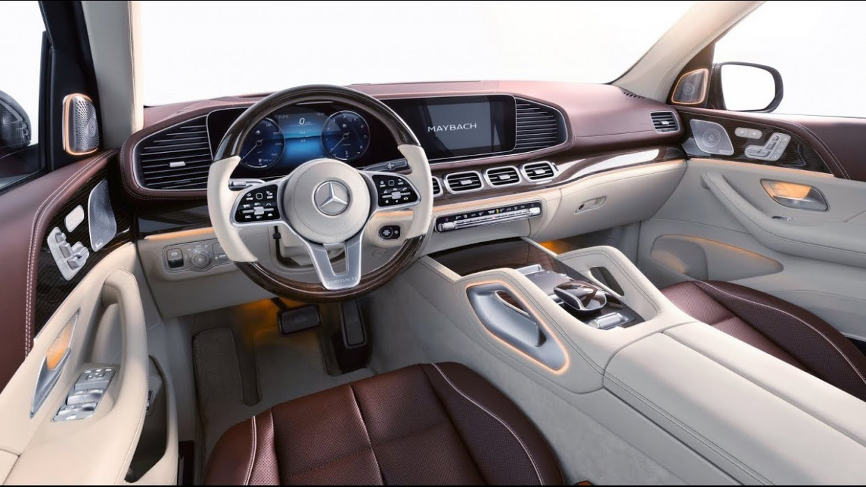 Wallpaper 2022 Mercedes GLS