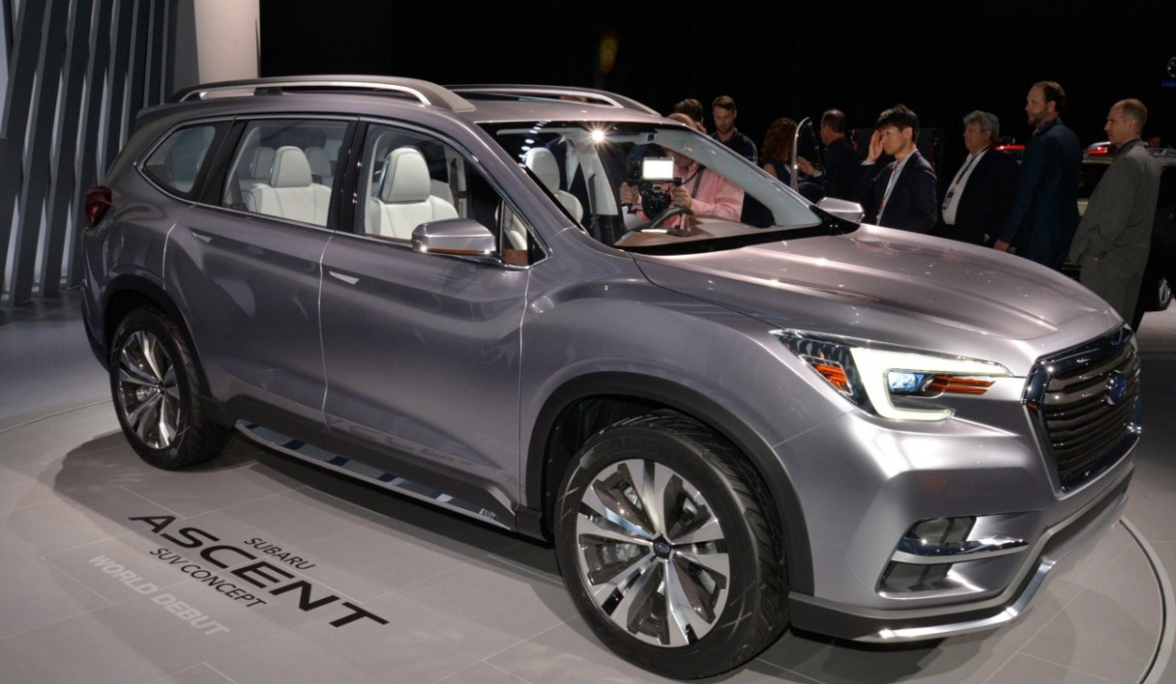 Review and Release date 2022 Subaru Ascent Release Date