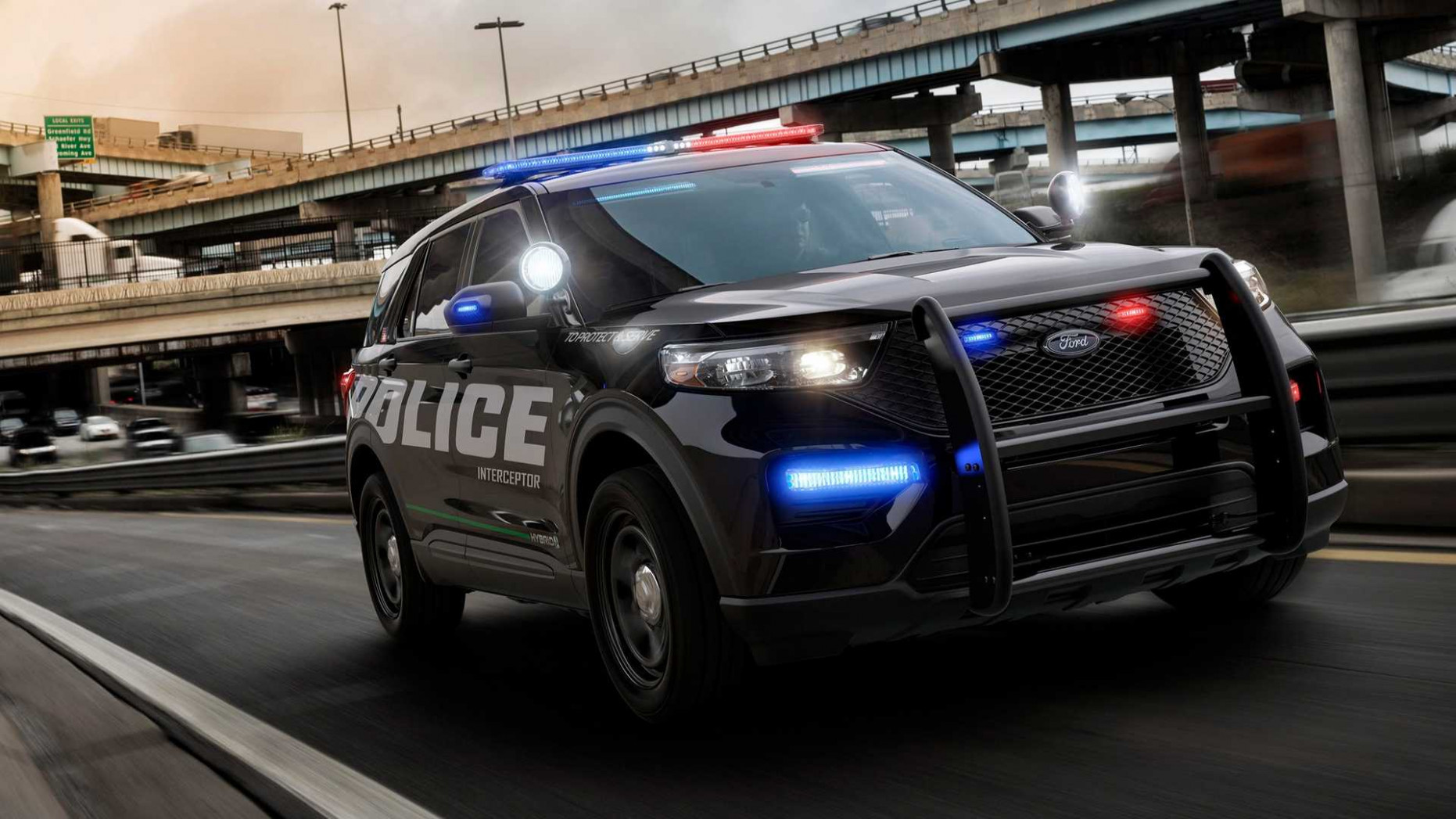 Redesign Ford Police 2022