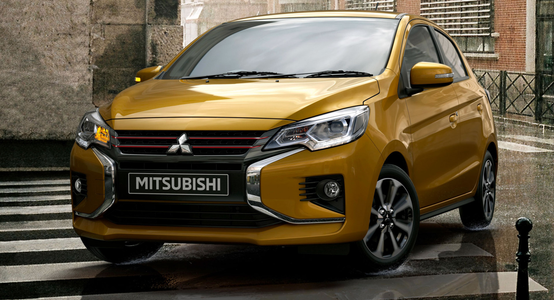 Redesign and Review Mitsubishi Mirage Facelift 2022
