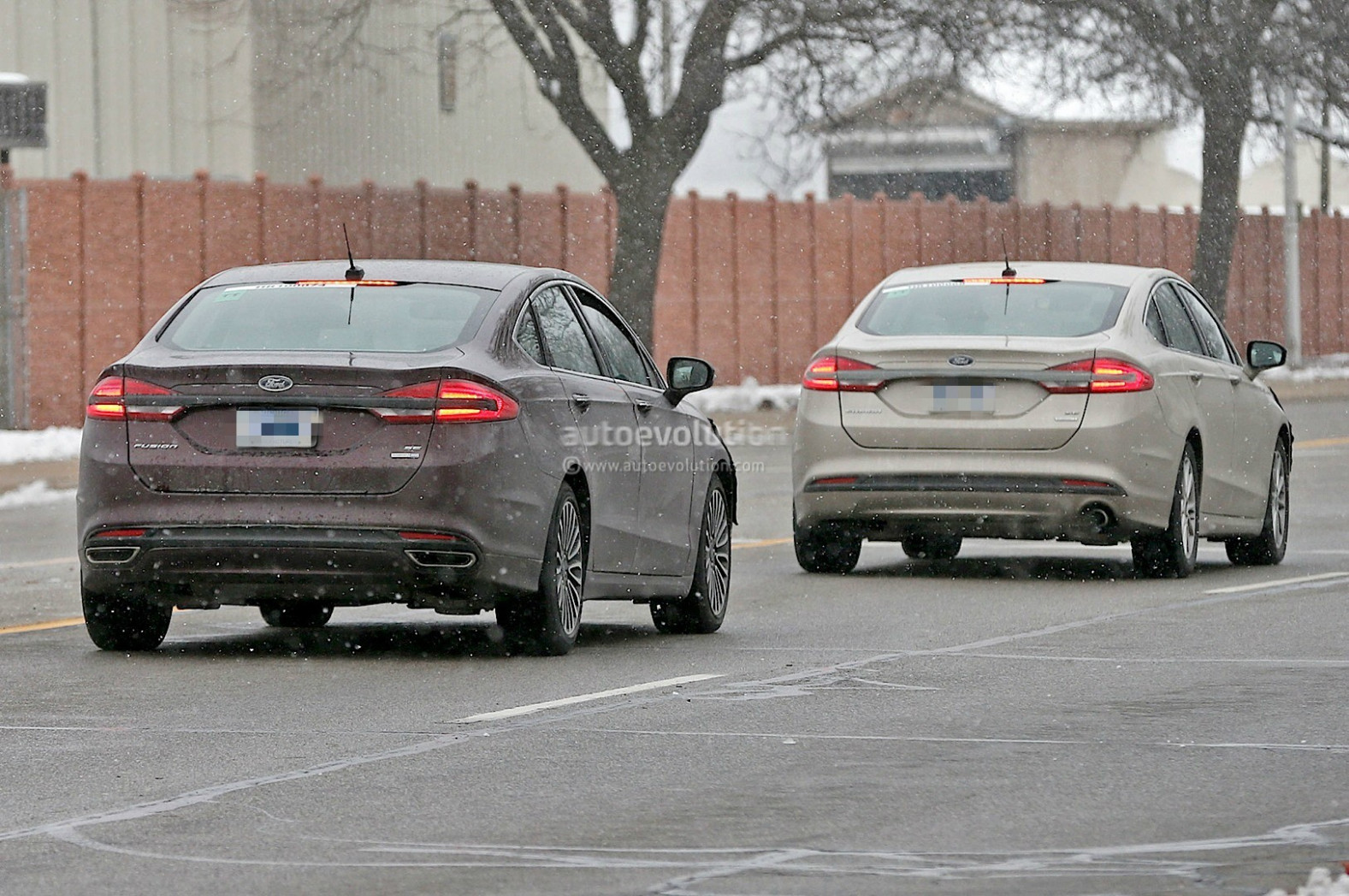 Concept and Review Spy Shots Ford Fusion