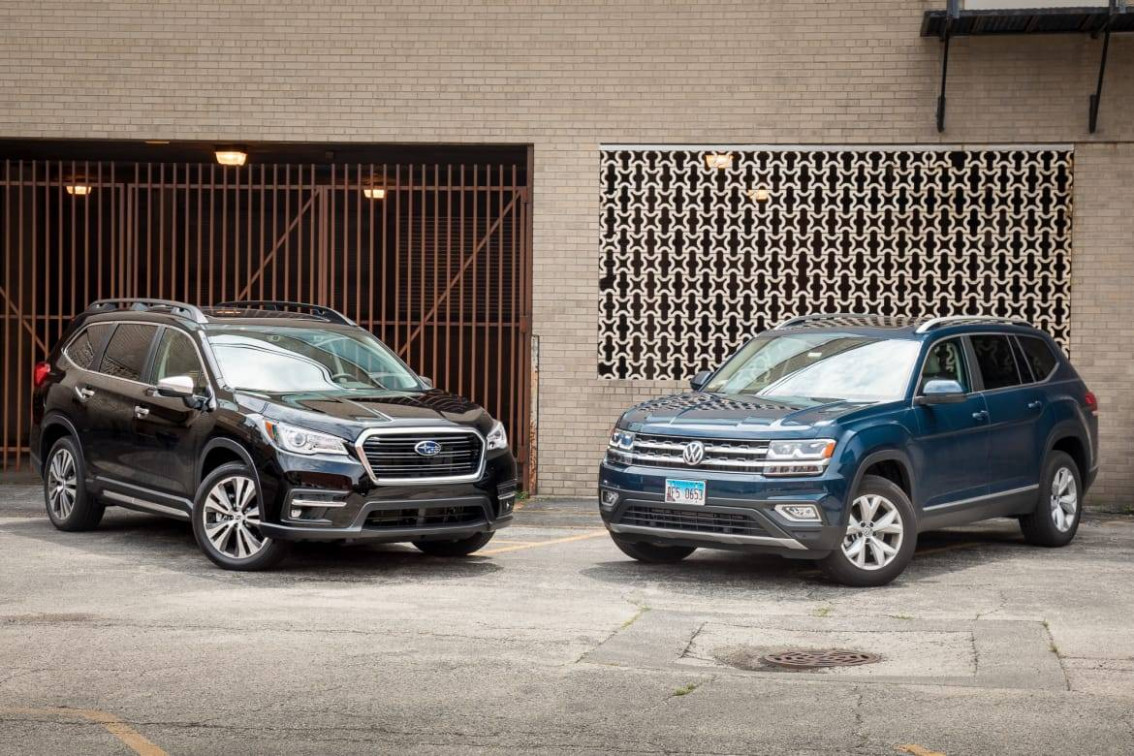 Review Subaru Ascent 2019 Vs 2022