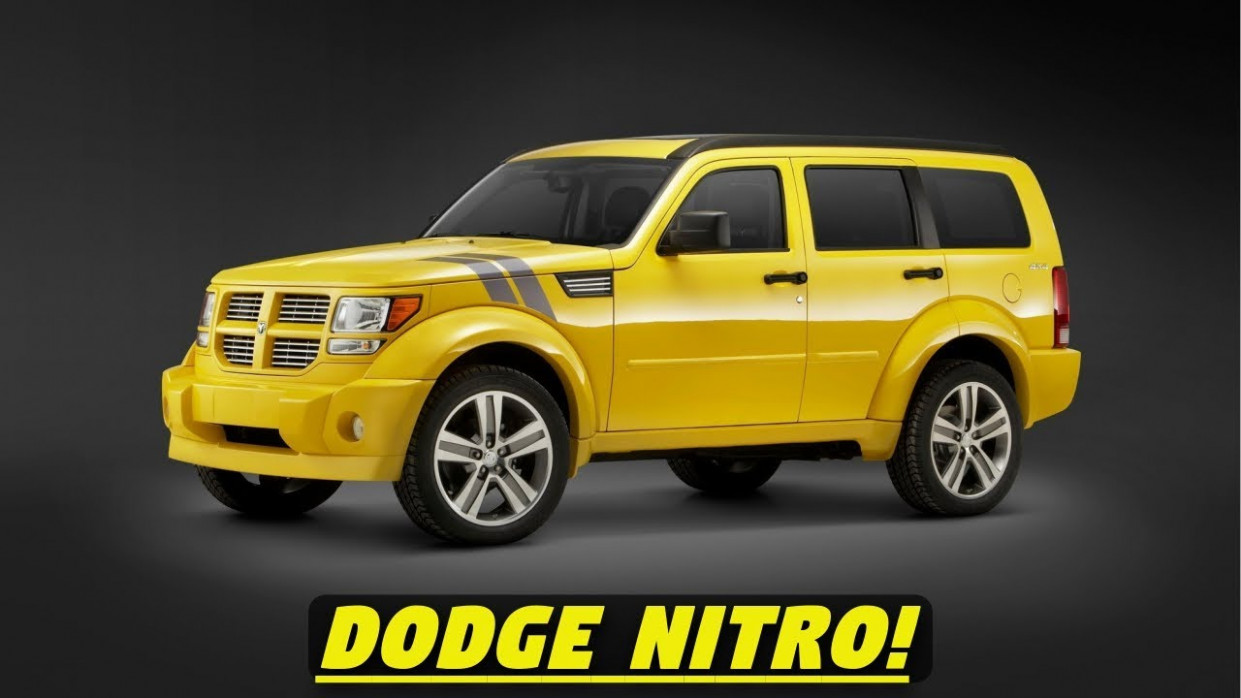 Redesign and Review Dodge Nitro 2022