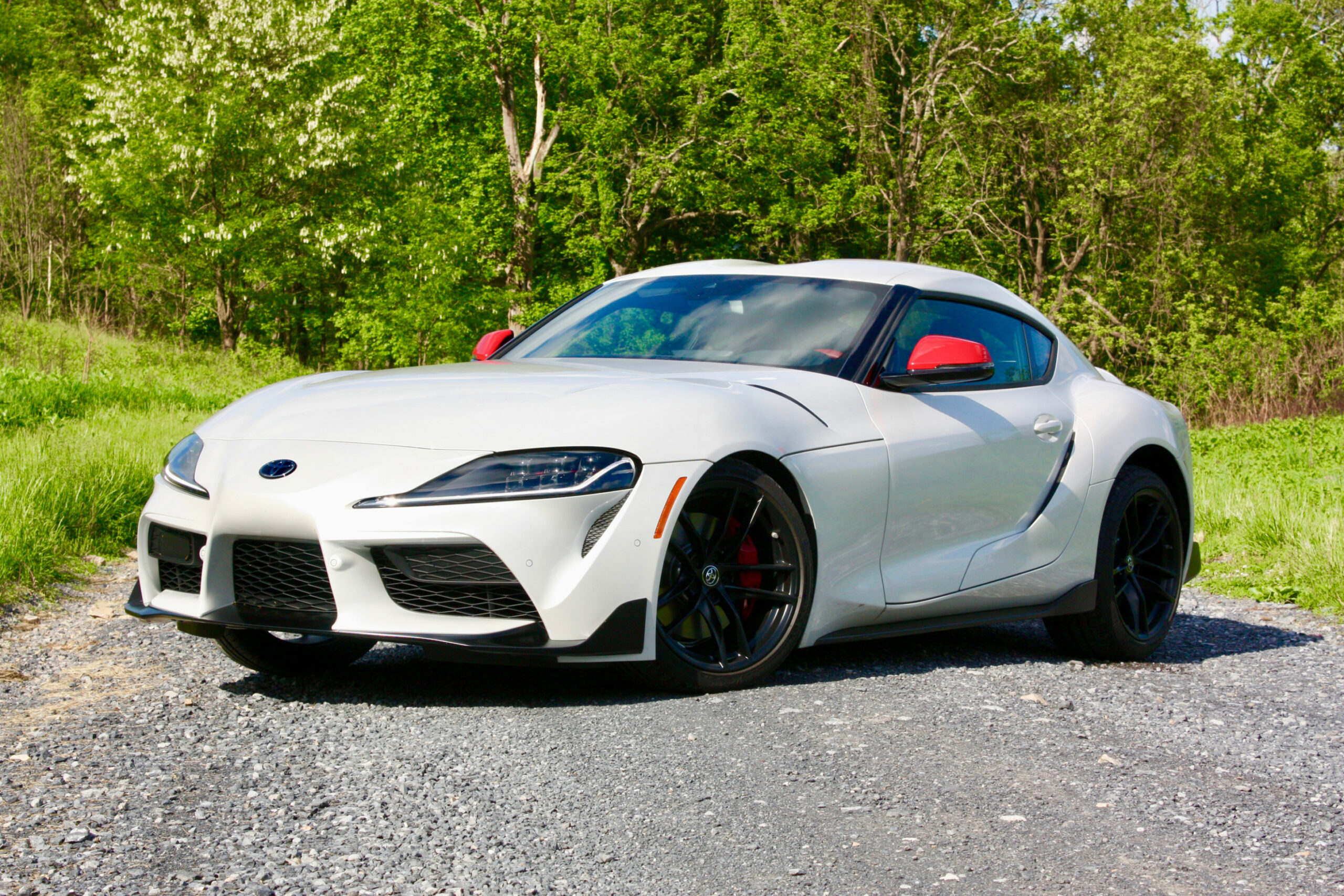 Speed Test Pictures Of The 2022 Toyota Supra