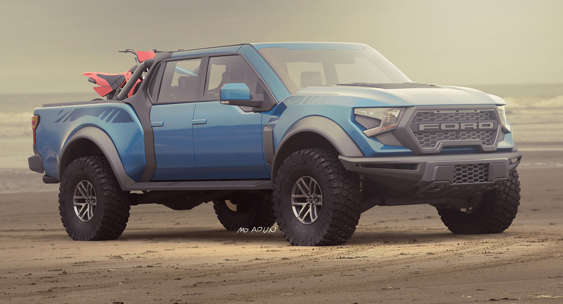 Redesign and Concept 2022 Ford F-150