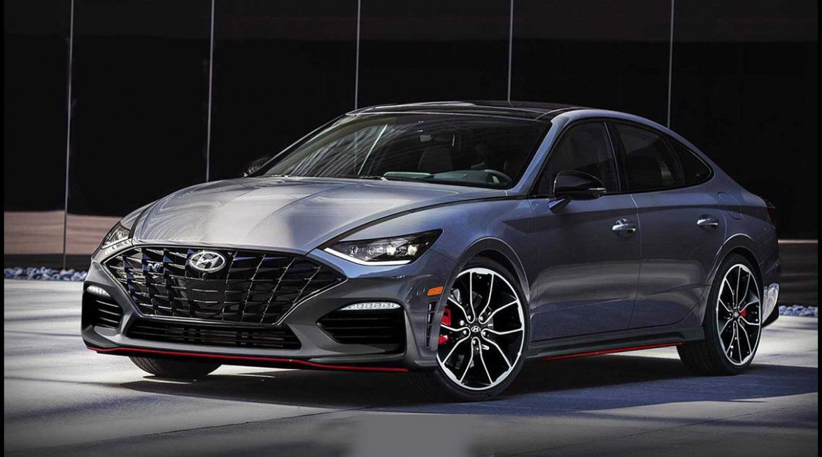 Exterior 2022 Hyundai Sonata Engine Options