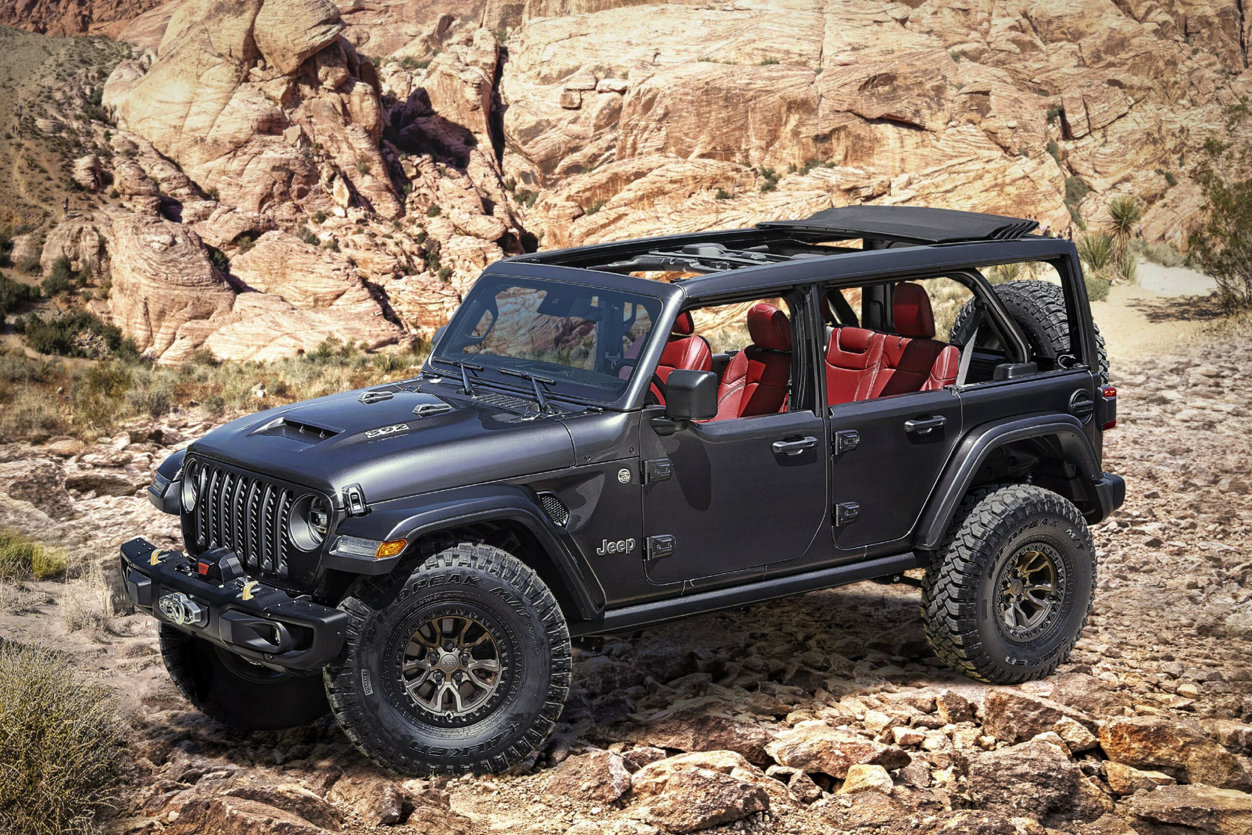 Concept 2022 Jeep Wrangler Unlimited